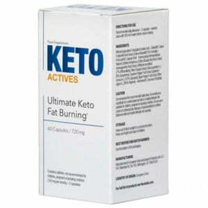 Keto Actives - aktivátor ketózy