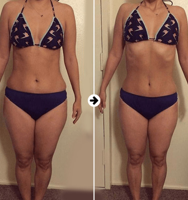 Keto Actives before after 3