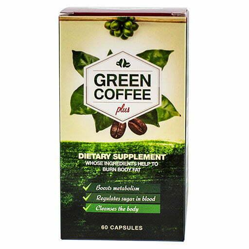 Green Coffee Plus 60 Capsules