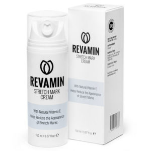 Revamin - eine Creme zum Entfernen von Dehnungsstreifen und Narben