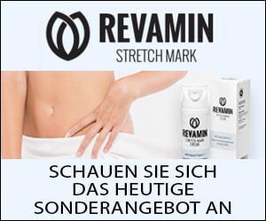 Revamin – eine Creme zum Entfernen von Dehnungsstreifen und Narben
